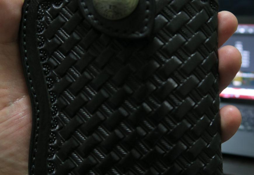 [DIY]スマホケースをレザーケース