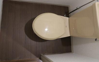 友人宅のトイレ床をリフォームしてみた