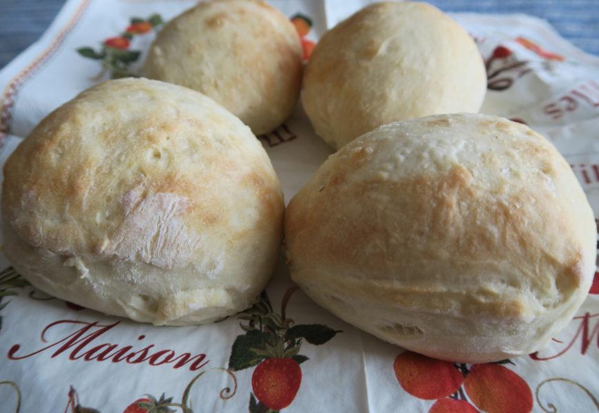 【料理】フランスパンレシピでテーブルパンを作ってみた
