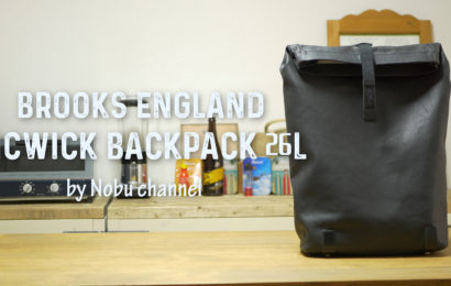 BROOKS ENGLAND 『PICKWICK Backpack 26L』6ヶ月使用レビュー
